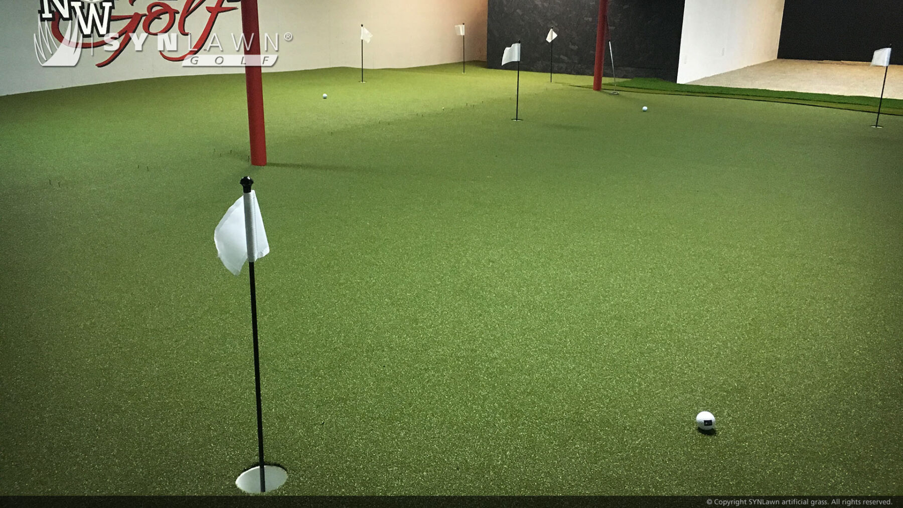 commercial indoor putting green, artificial grass near me