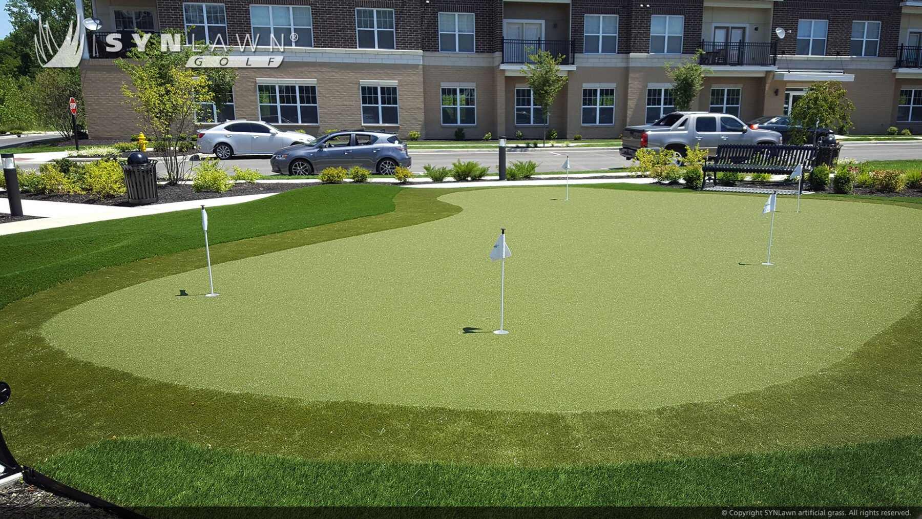 putting green in residential new york