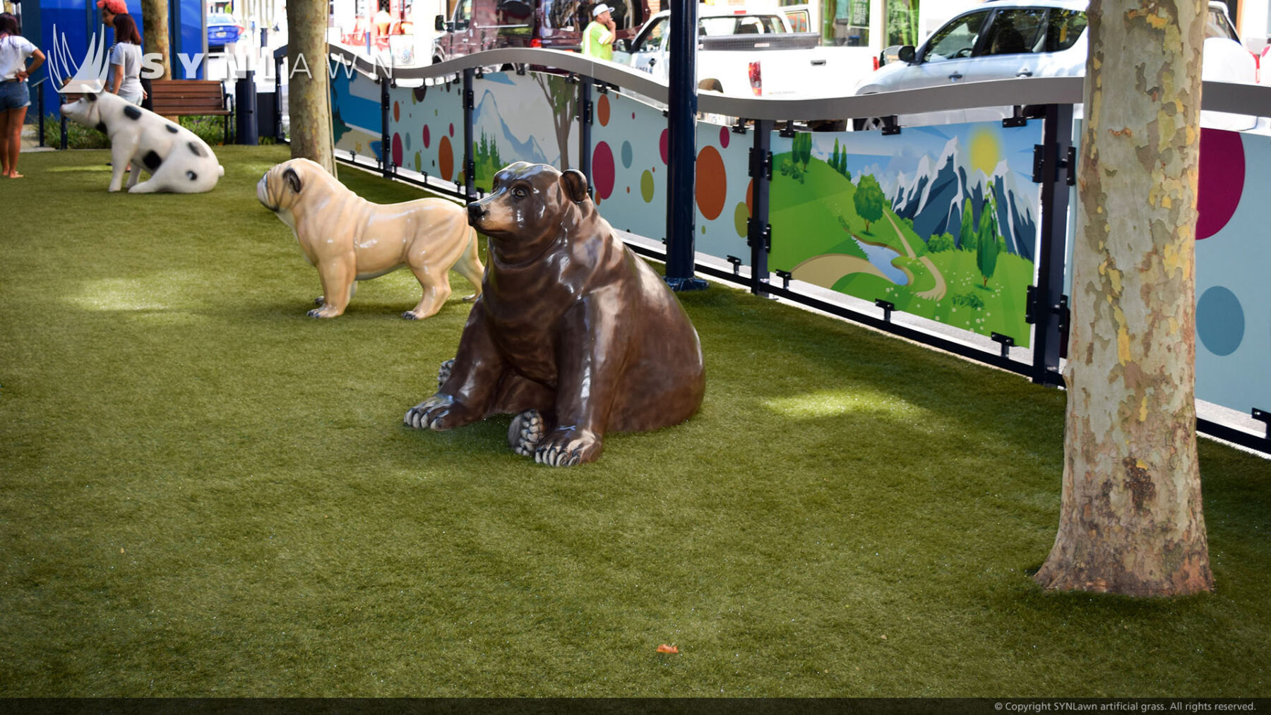 Playground and pet turf installation new york
