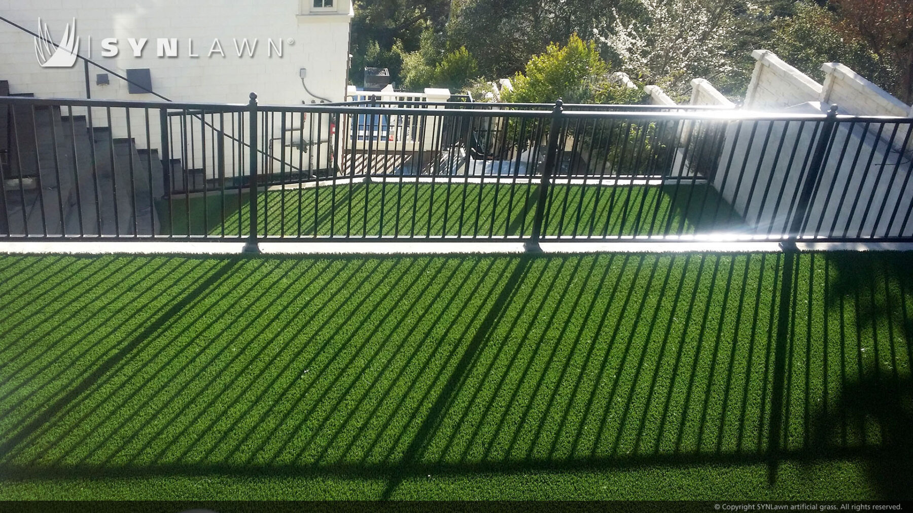artificial grass on rooftops near me