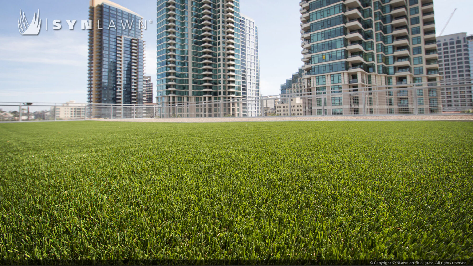installation of commercial artificial grass