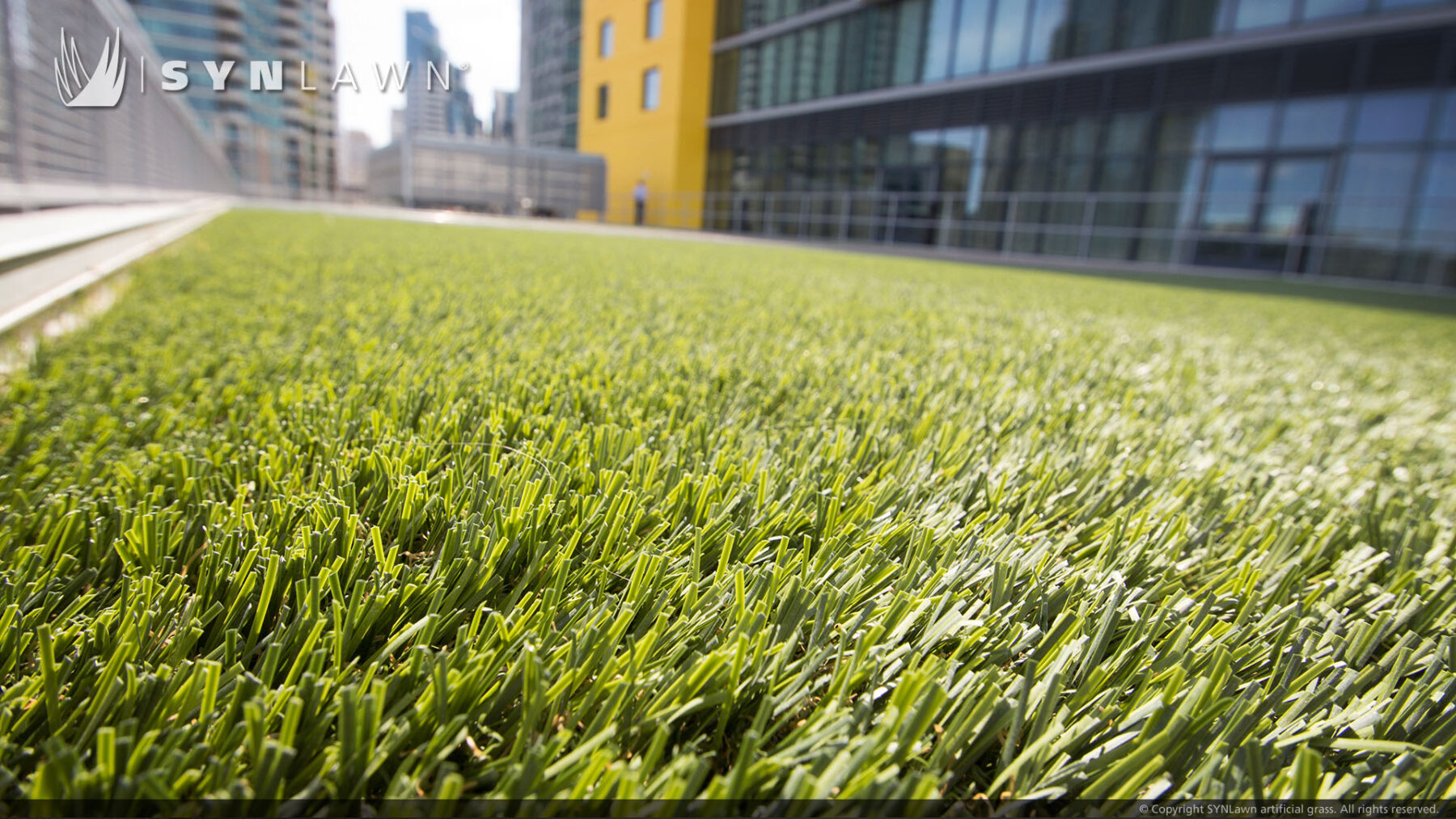 artificial grass, turf commercial installation