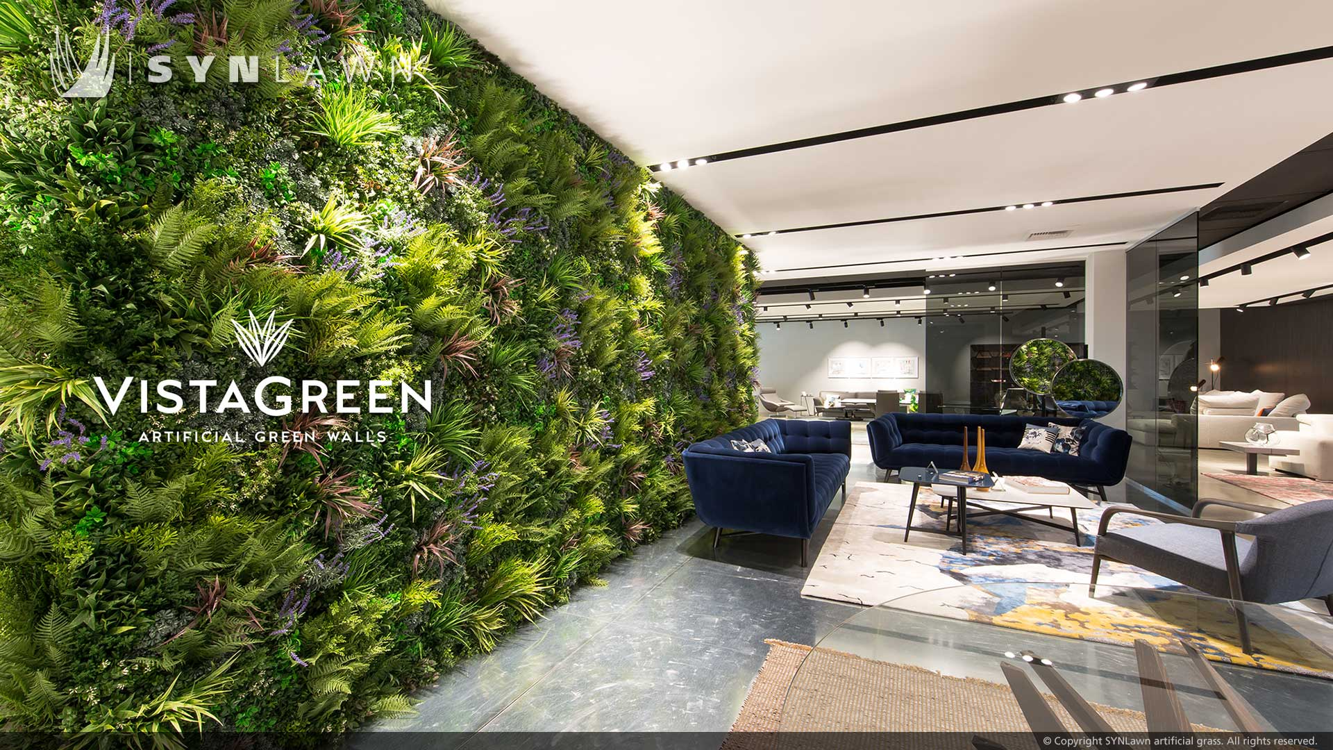 Vistagreen Artificial green walls