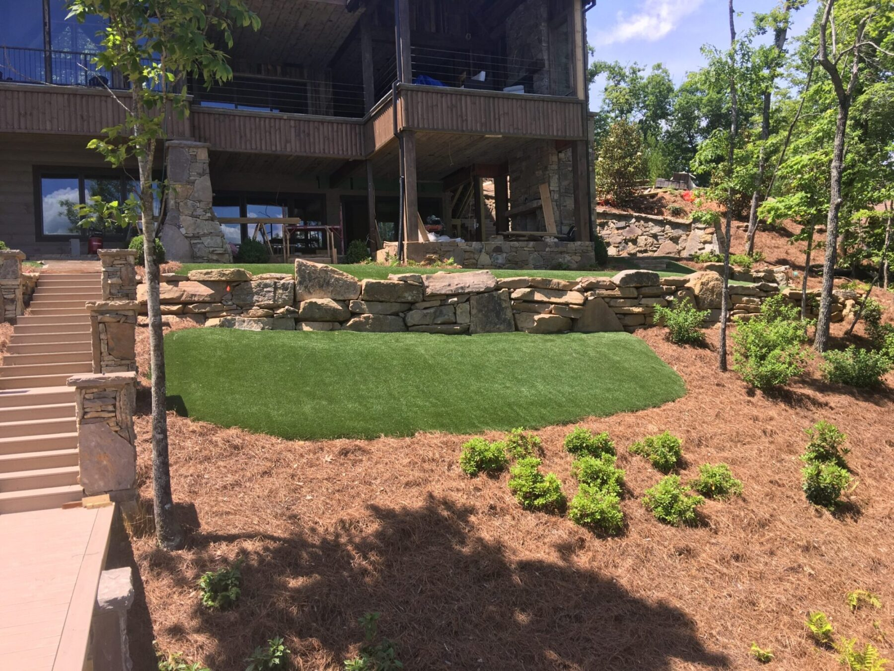 artificial grass for residential home