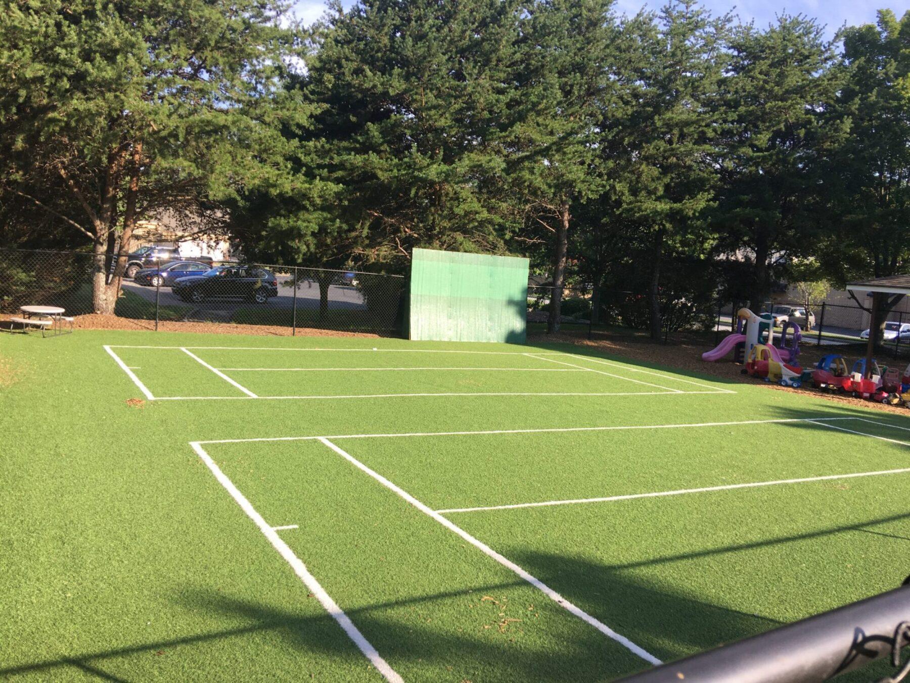 sports field artificial grass near me