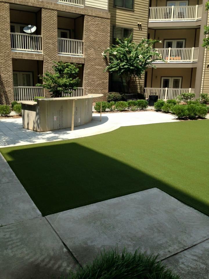 residential lawn, artificial grass installation near me