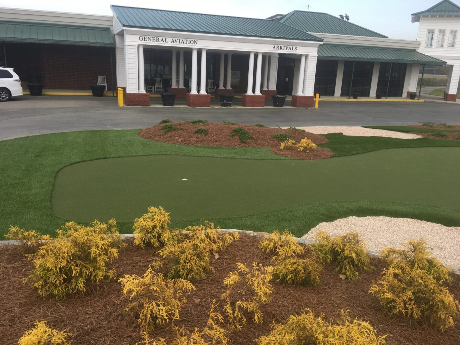 affordable putting green, artificial grass