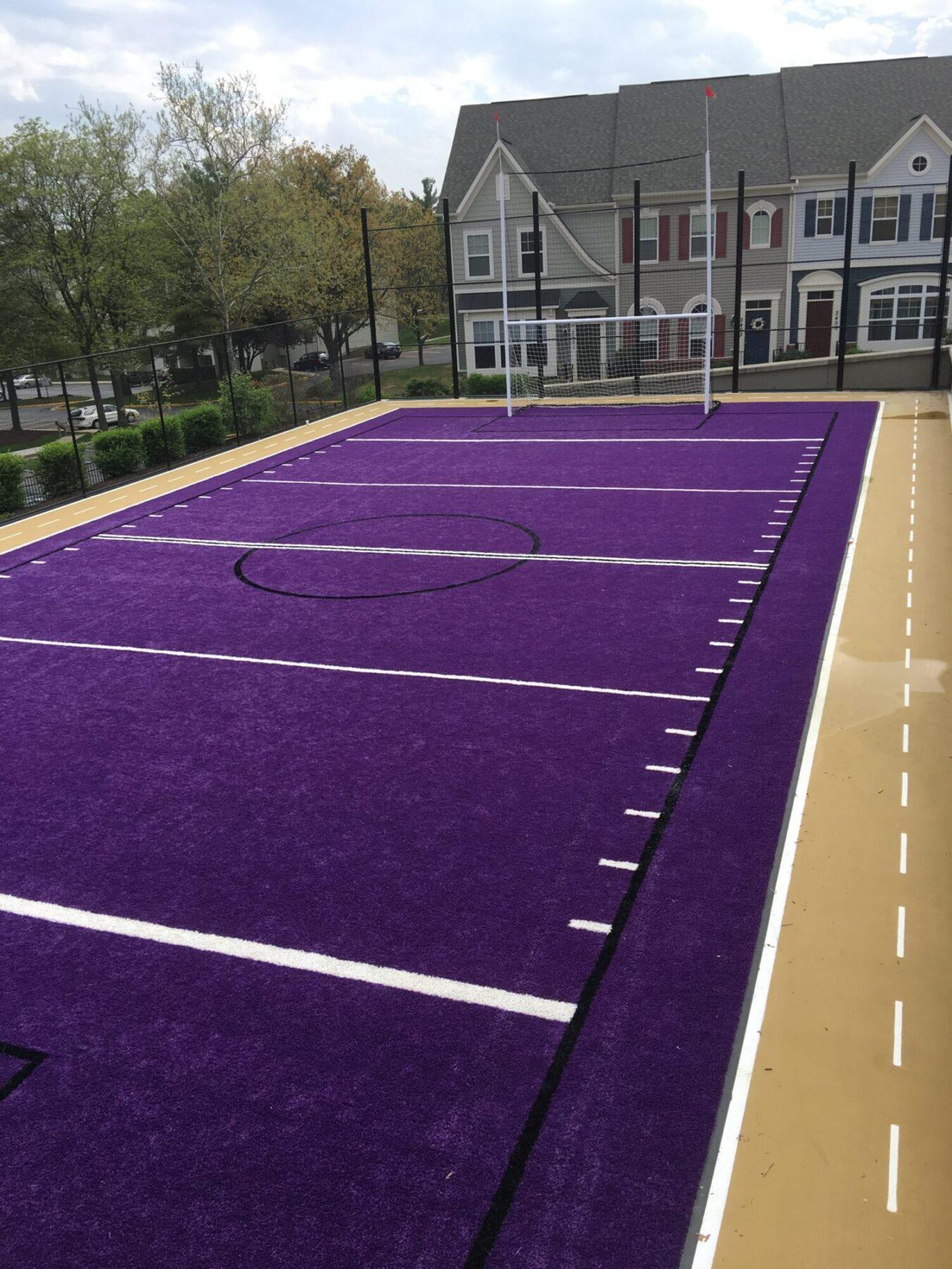 residential community sports field install near me