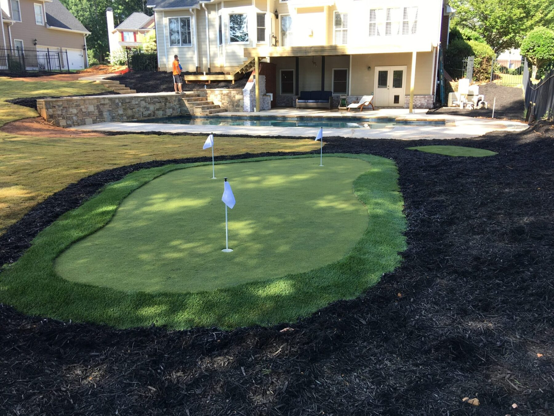 affordable residential putting green