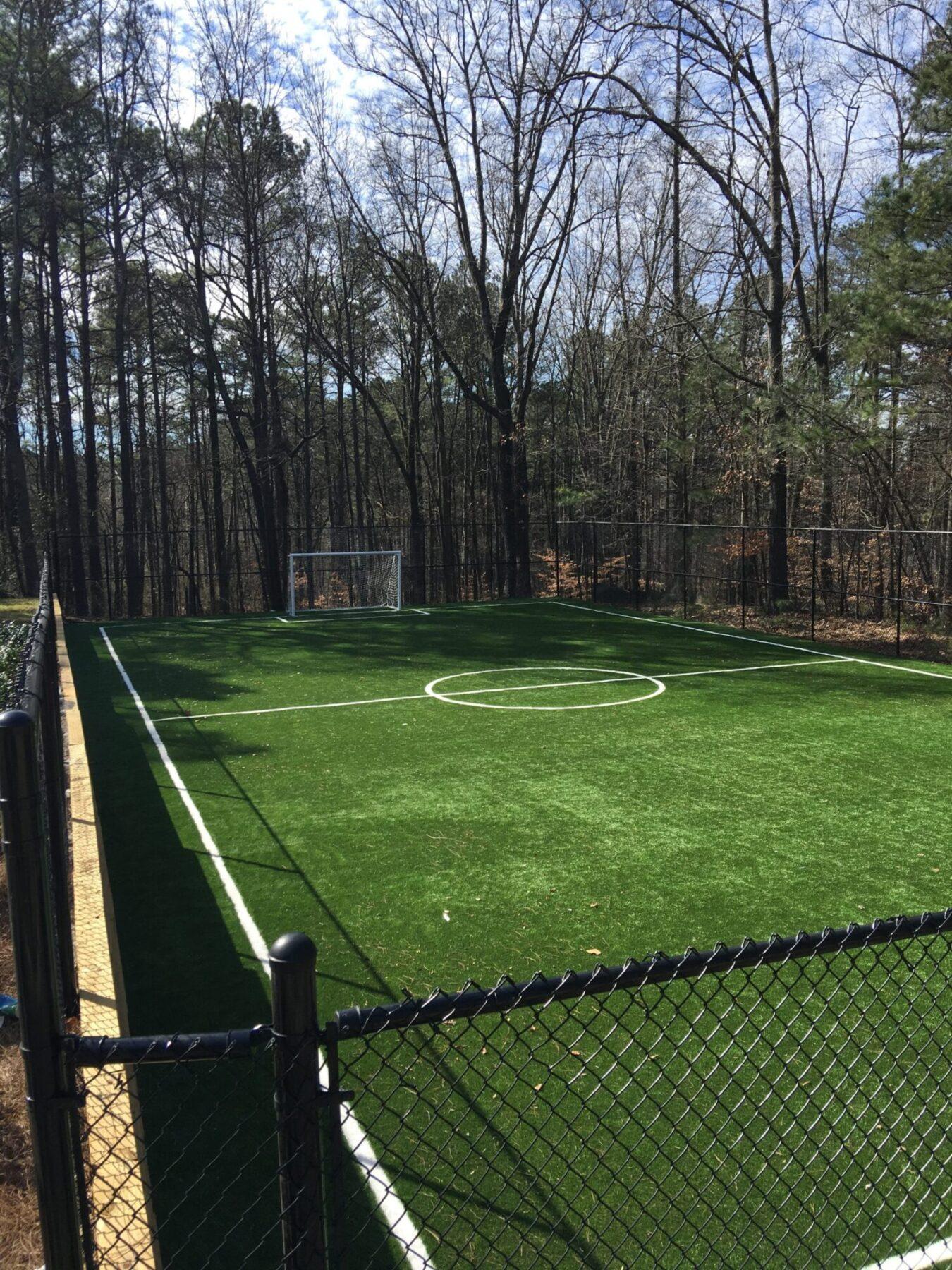 sports field artificial grass install near me