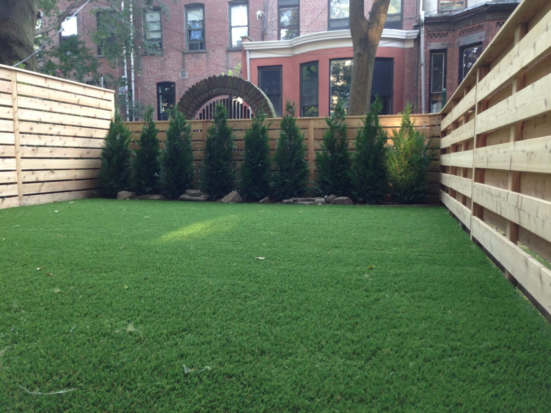 artificial commercial lawn