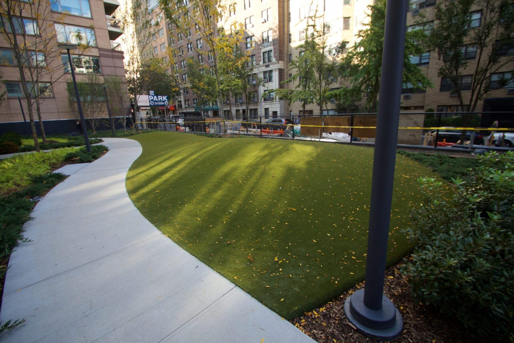 affordable commercial lawn install