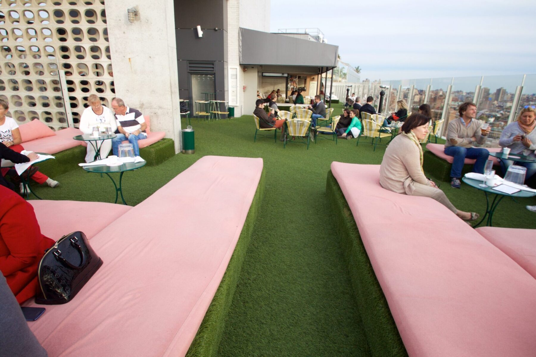 rooftop artificial commercial grass