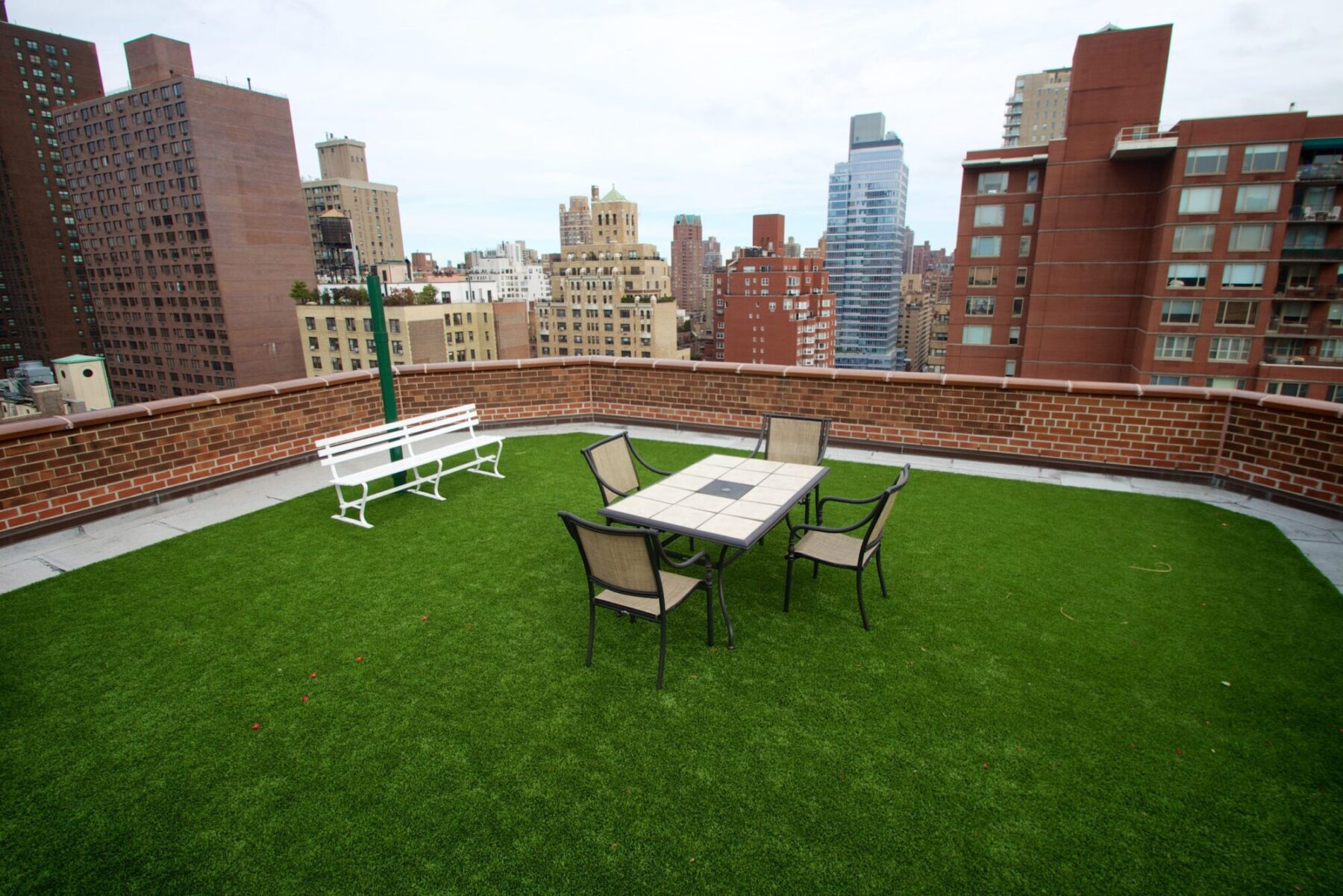 new york rooftop commercial artificial grass