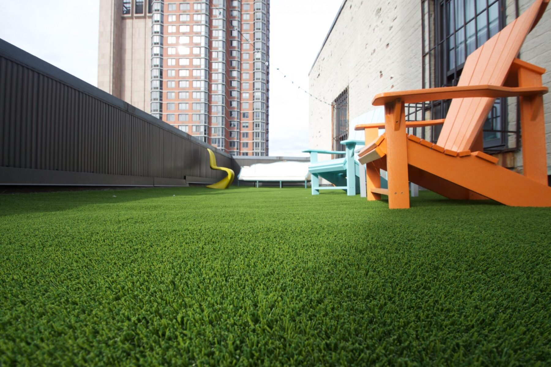 affordable rooftop artificial grass