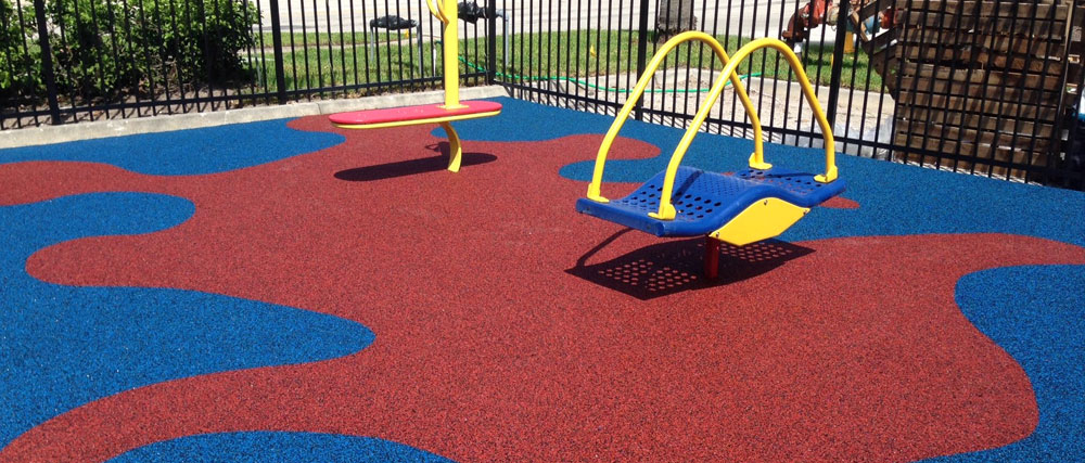 Playground artificial lawn