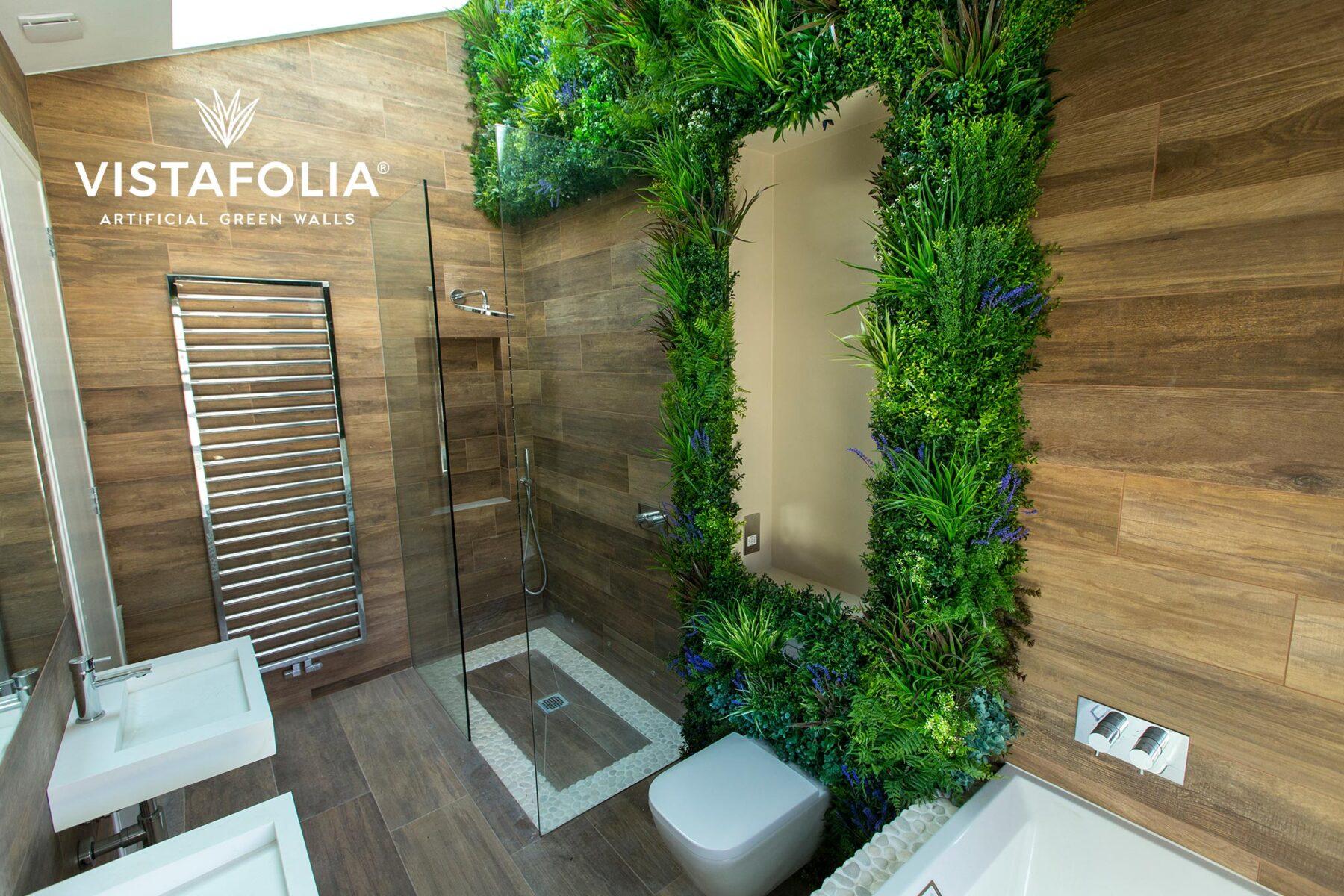 green walls artificial grass install, vistafolia