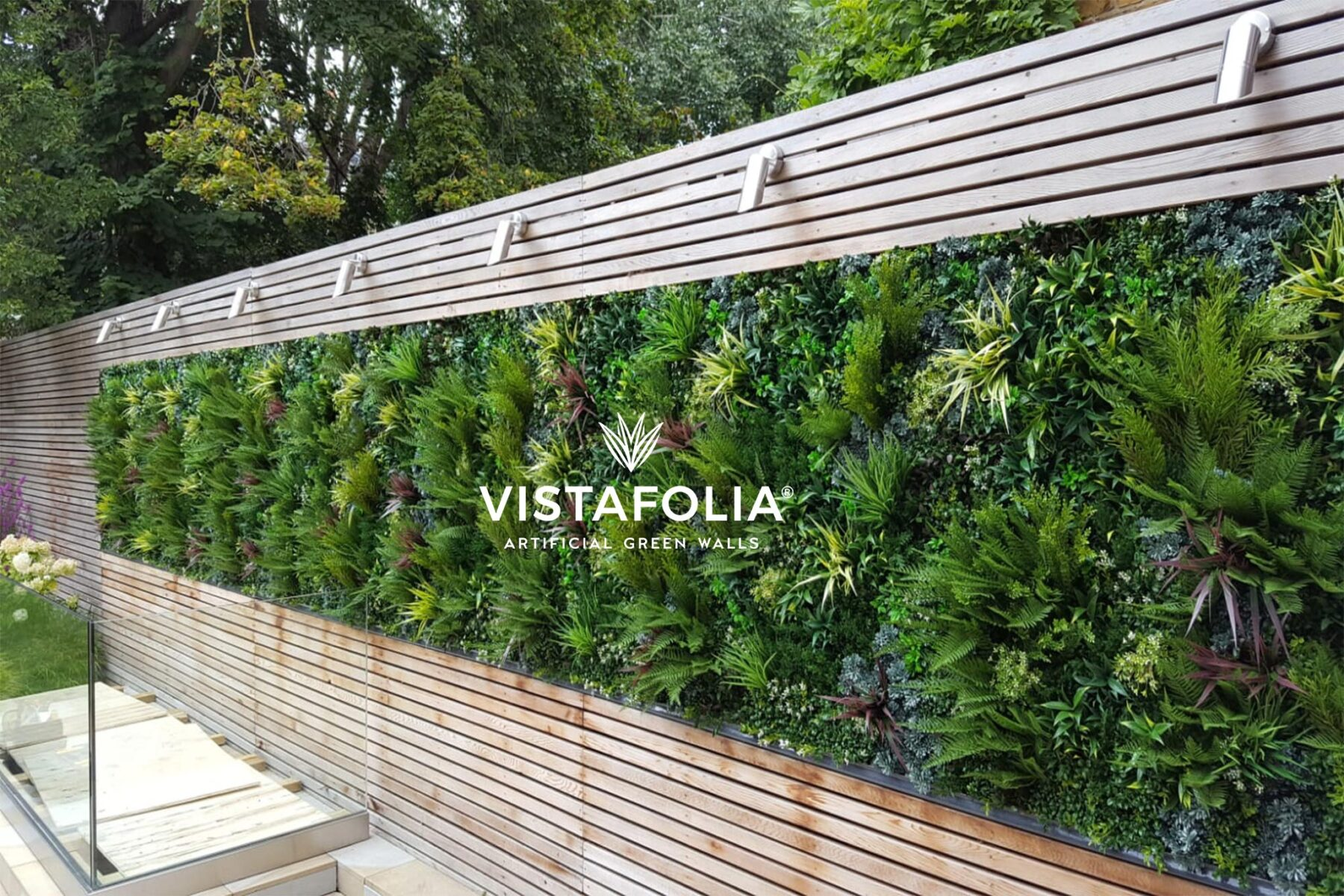 vistafolia, artificial green walls installation