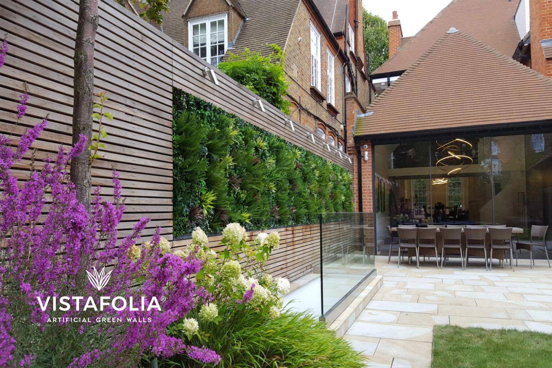 green walls, artificial grass installation