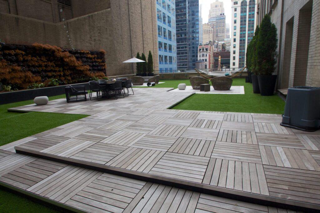 new york roof top artificial grass near me
