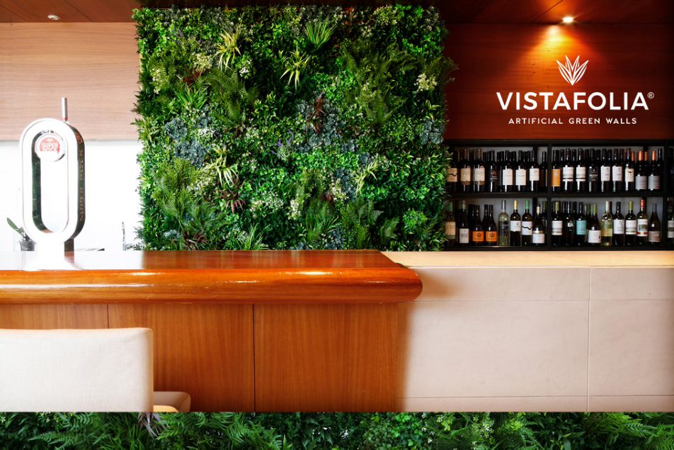 green walls artificial plants, vistafolia