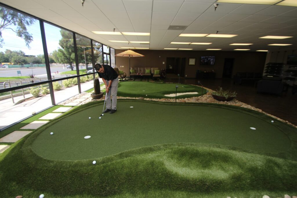 affordable office putting green
