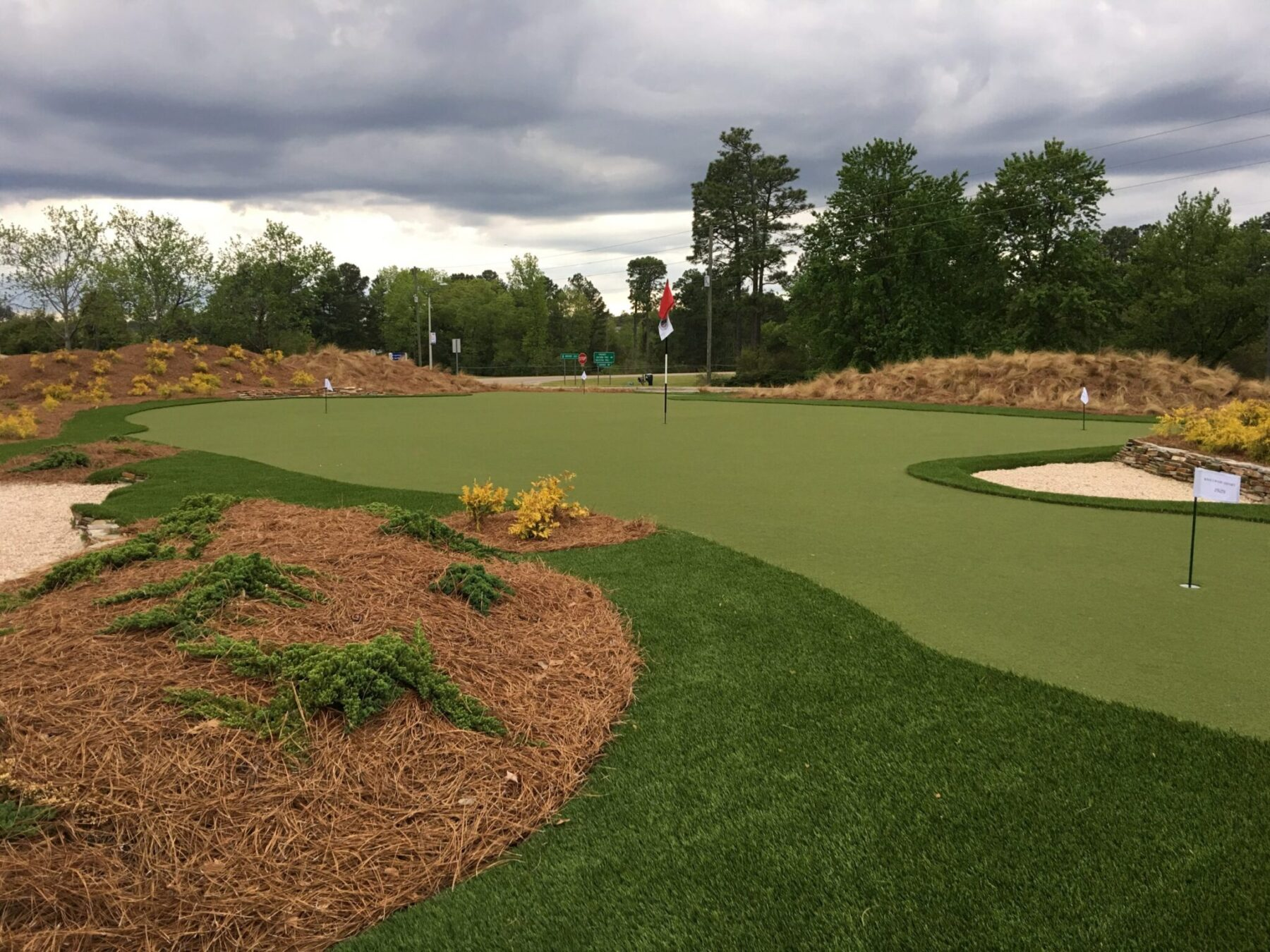 putting green installation near me