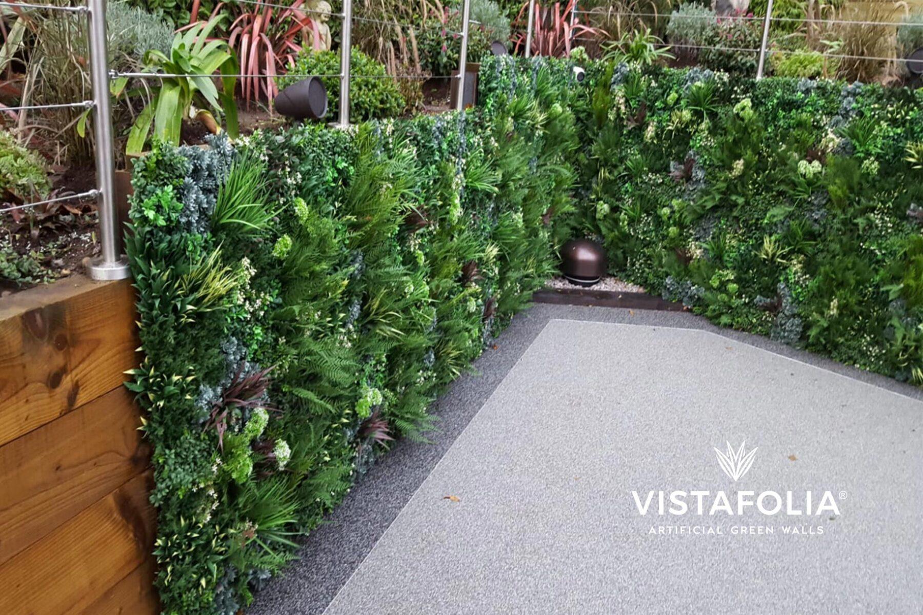 vistafolia, new york artificial green walls
