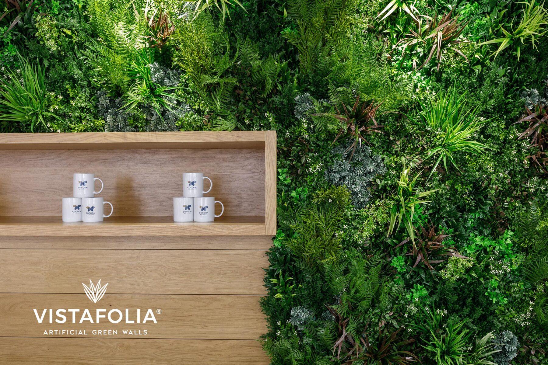 vistafolia, affordable green walls