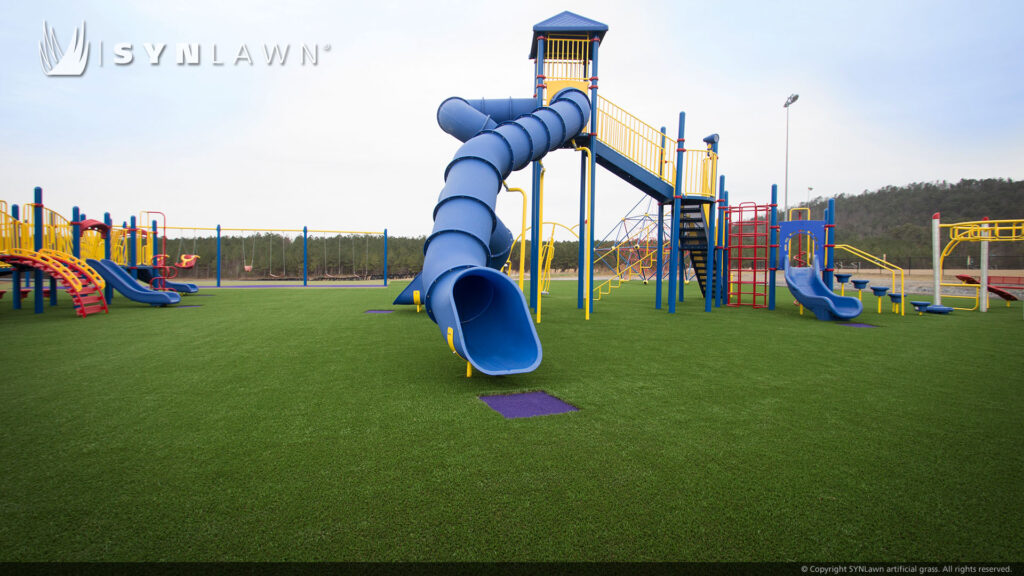new york playground turf installation
