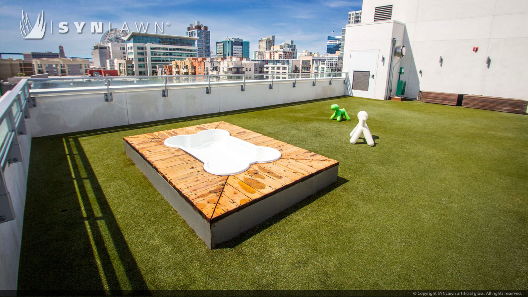 new york roof top pet turf