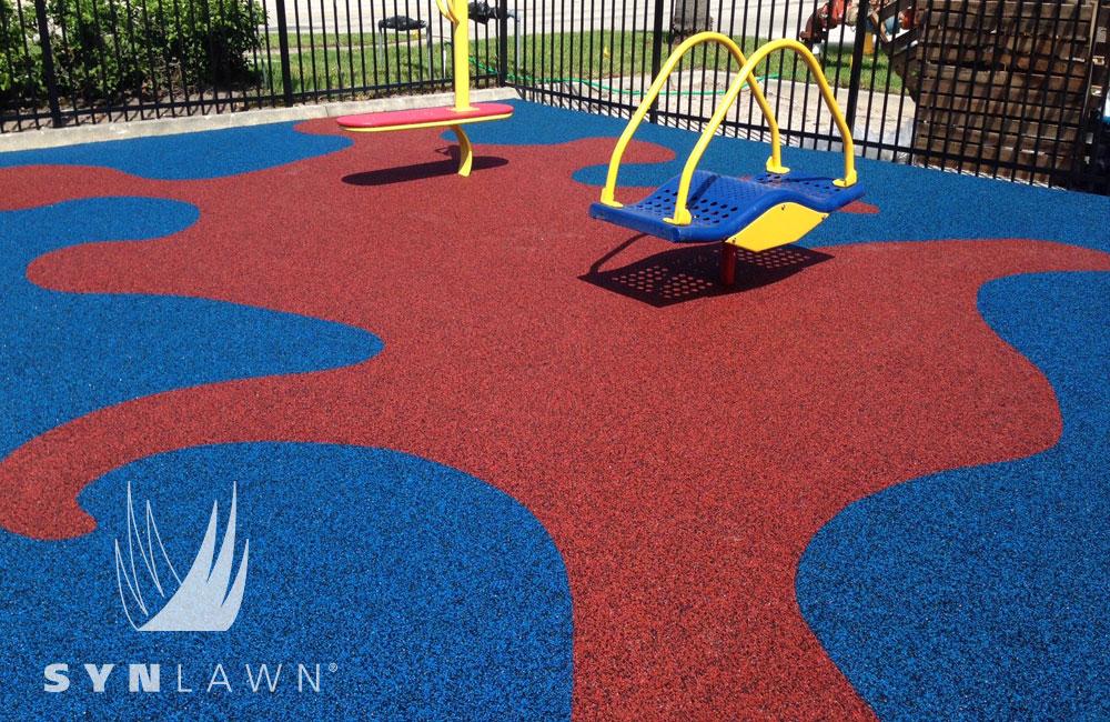 Syn Lawn playground turf