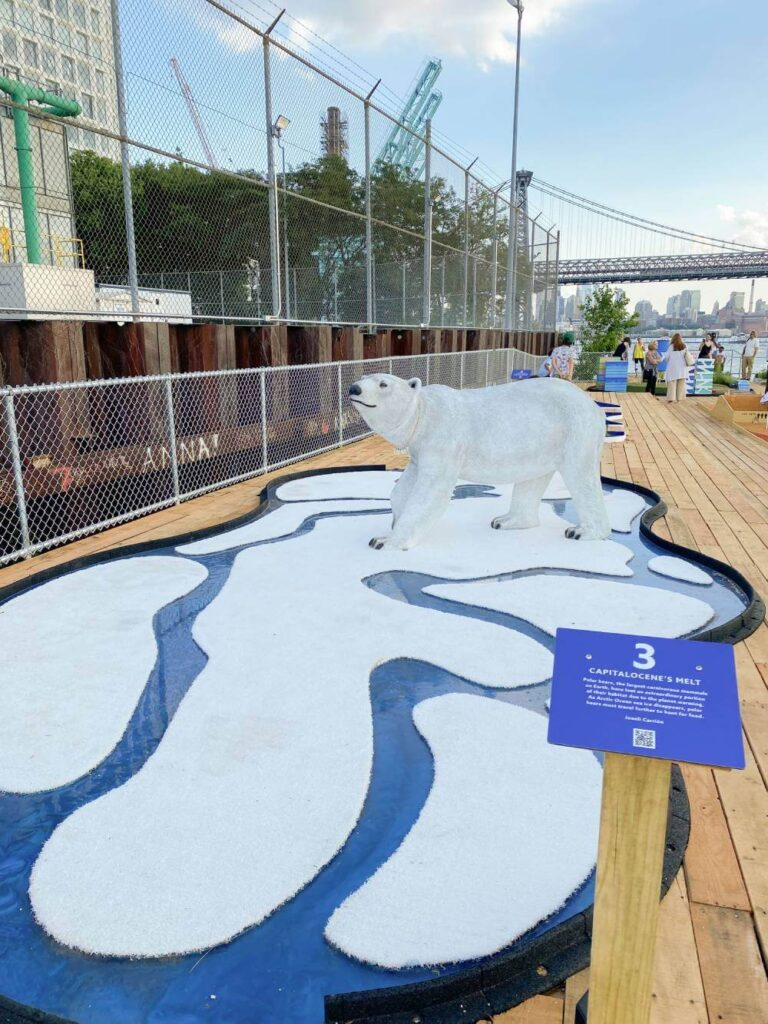 Two Trees Management Debuts PUTTING GREEN Climate Change-Themed Mini-Golf Course in Partnership with SYNLawn®