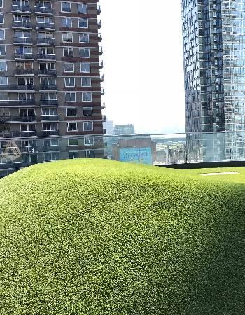 newyork artifical grass rooftop installation